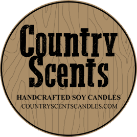 Country Scents Handcrafted Soy Candles ParadisePaintParties.com