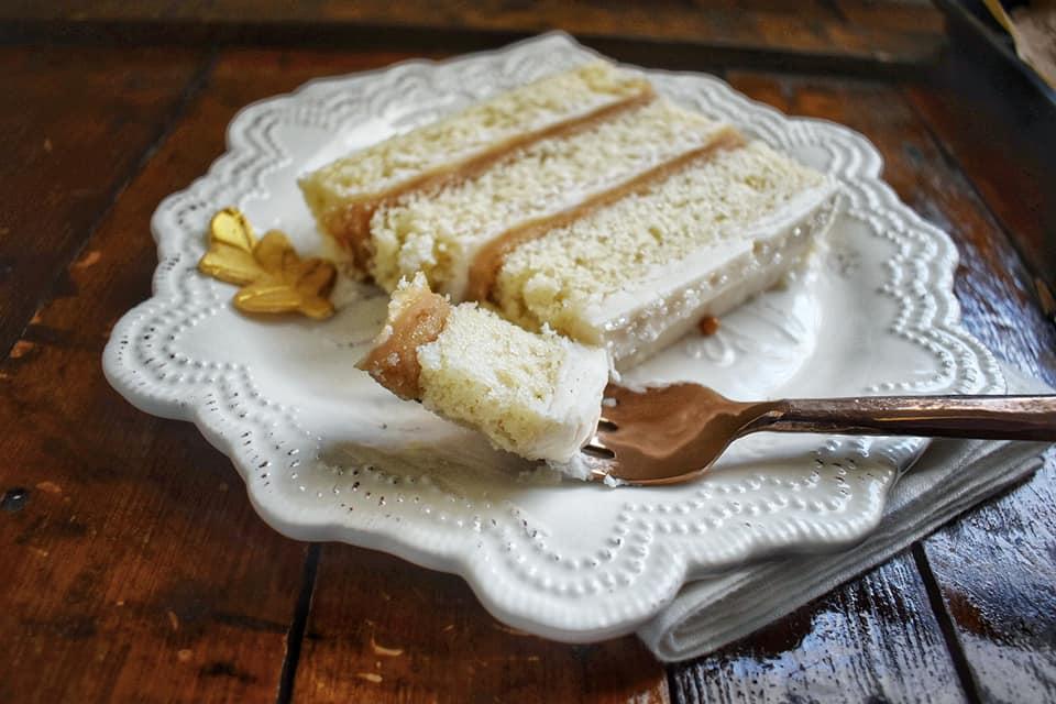Vanilla Bean Caramel Cake 2