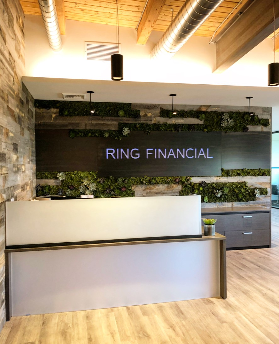 Ring Financial 20,000 SF Phase 1 & 2 to be completed 10/2018