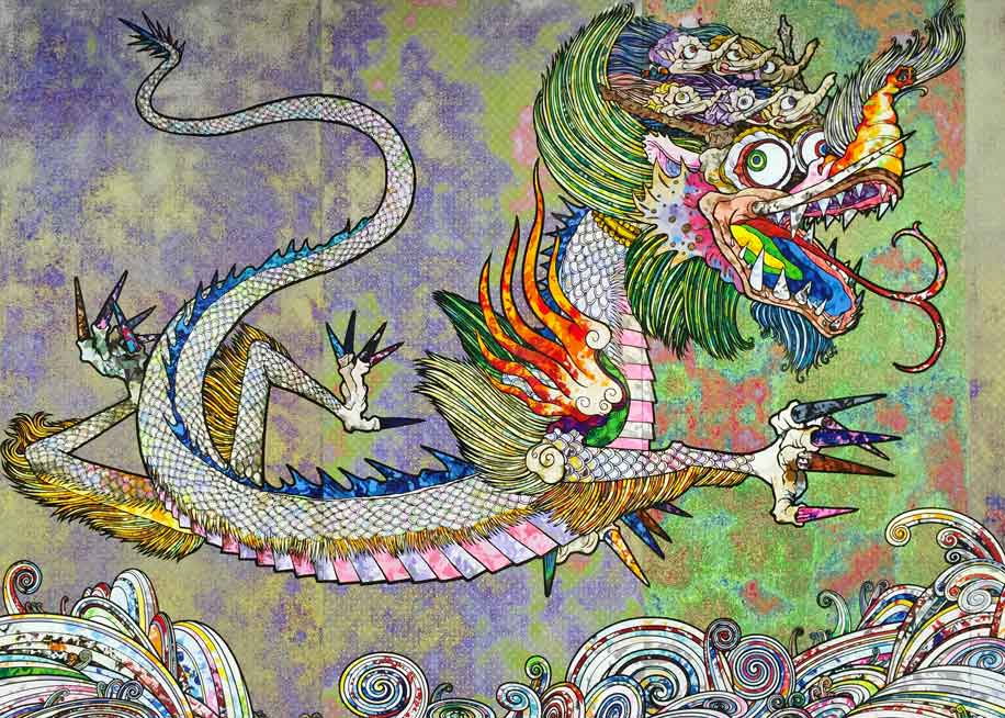 Dragon by Takashi Murakami