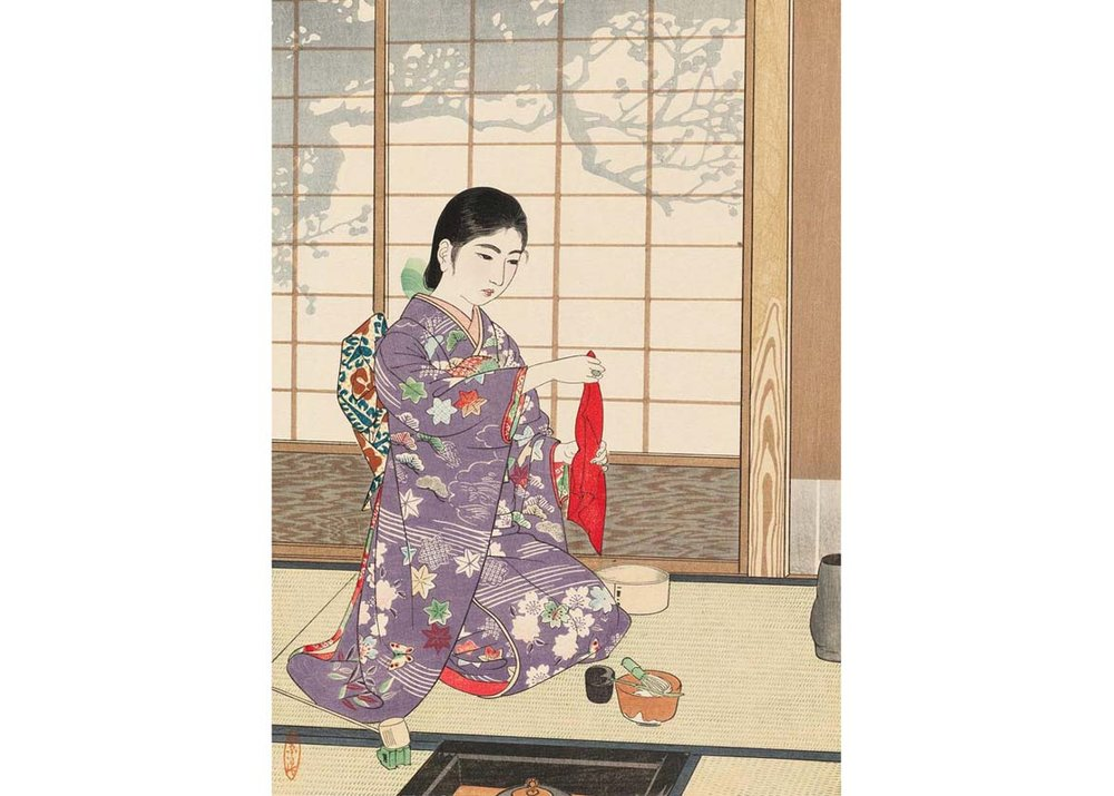 © Museum of Fine Arts, Boston;  mfa.org ; Woodblock Print by Kamatsu Shiro