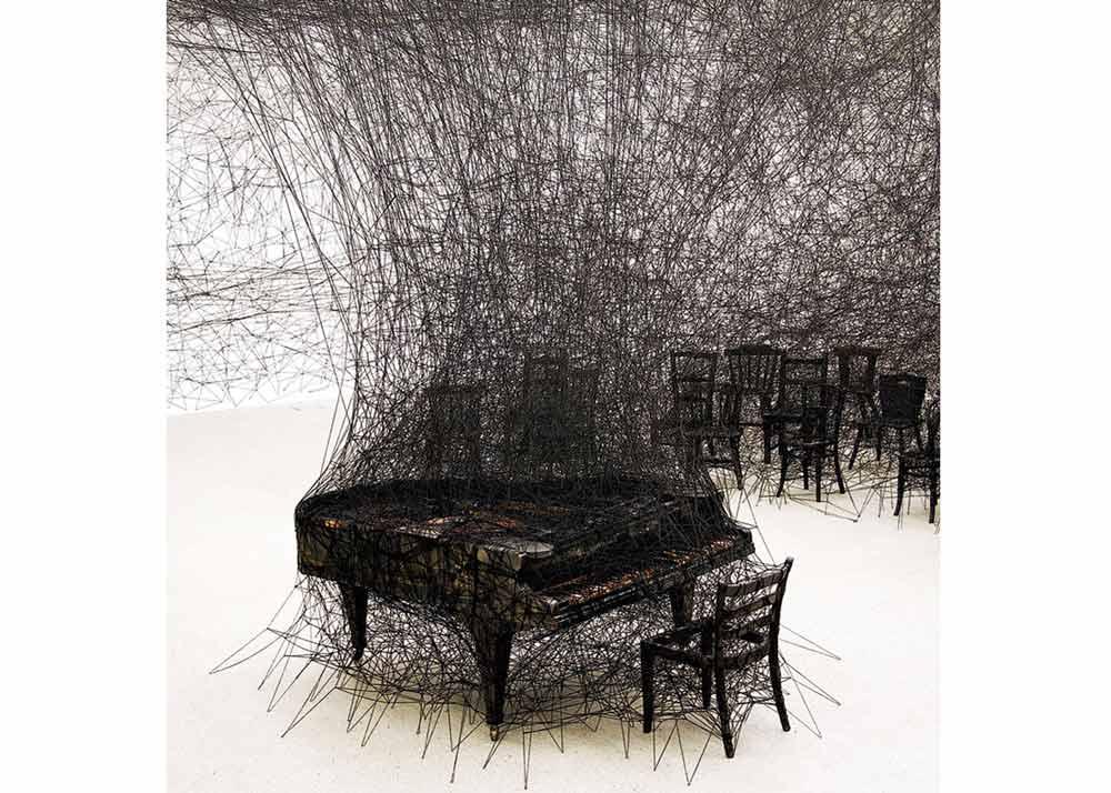 © Chiharu Shiota, In Silence