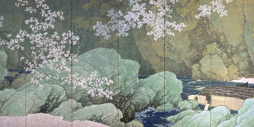 Parting Spring by Kawai Gyokudo (Part 1), 1916, National Museum of Modern Art, Tokyo