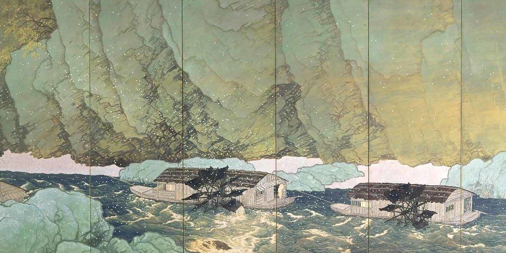 Parting Spring by Kawai Gyokudo (Part 2), 1916, National Museum of Modern Art, Tokyo