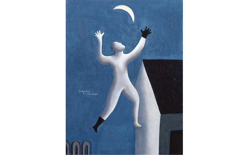 © Seiji Togo, Surrealistic Stroll, 1929, Seiji Togo Memorial Sompo Japan Nipponkoa Museum of Art