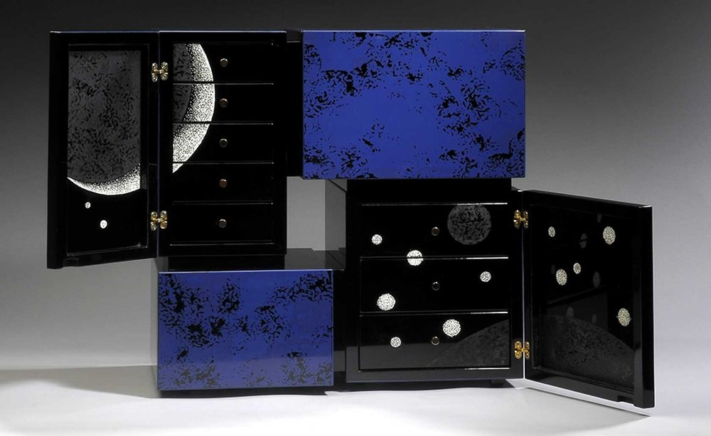 ©  Mobilia Gallery , Mahogany Cabinet by Yoko Zeltersman-Miyaji