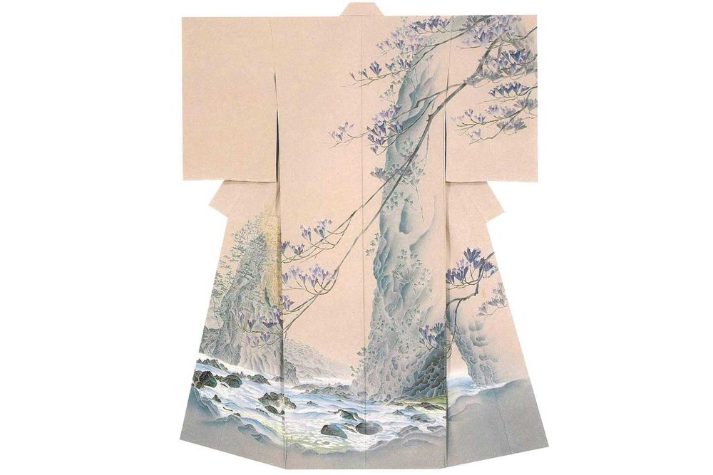 © Kimono by Kaga Yuzen