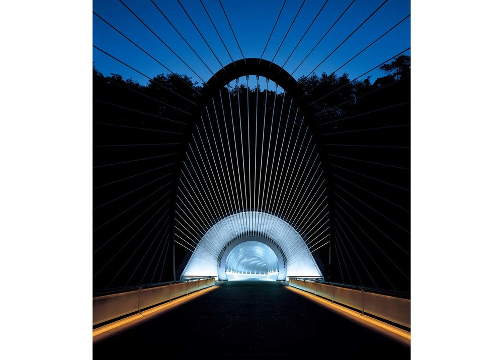 © Miho Museum, Entrance Tunnel