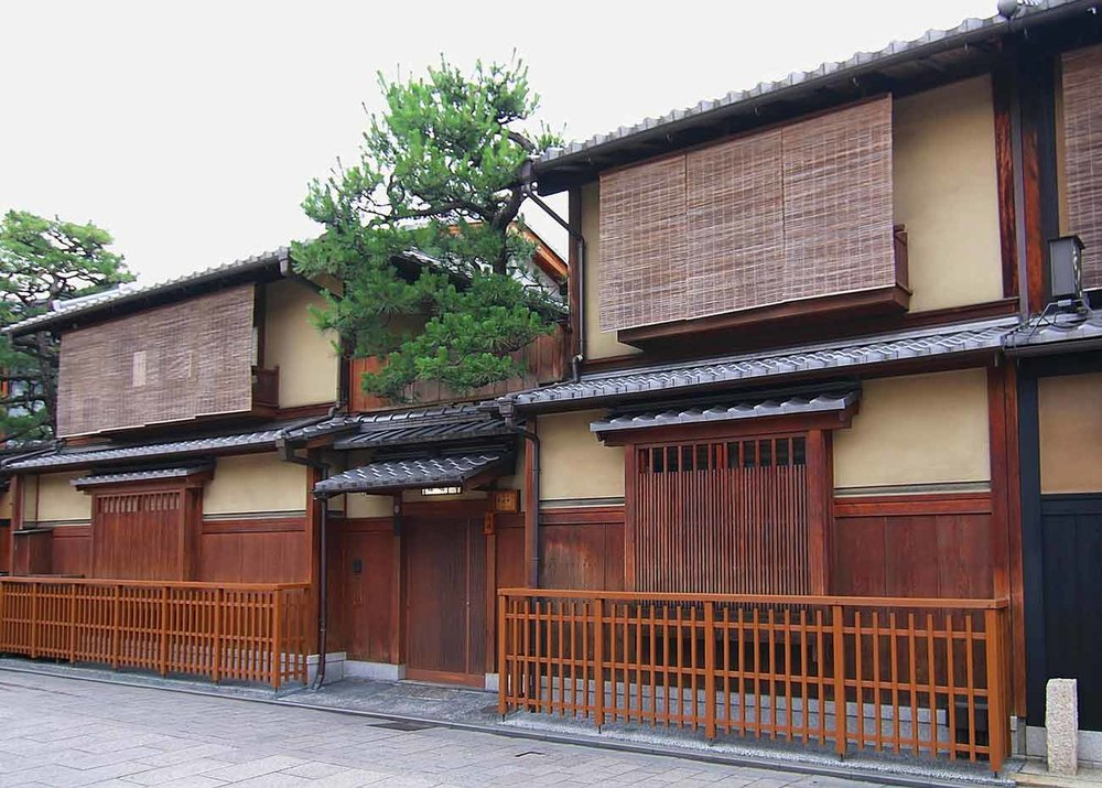 ©  Sodai Gomi  /  Creative Commons , Machiya in Gion