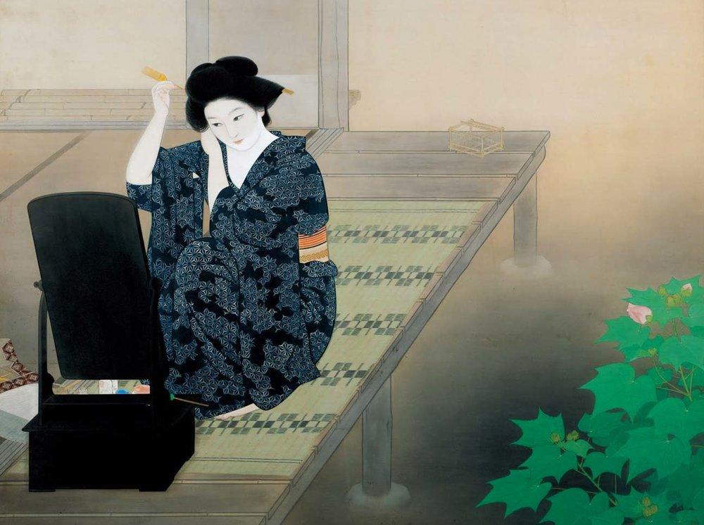 © Tetsu Katsuda, Evening, 1934,  Adachi Museum of Art