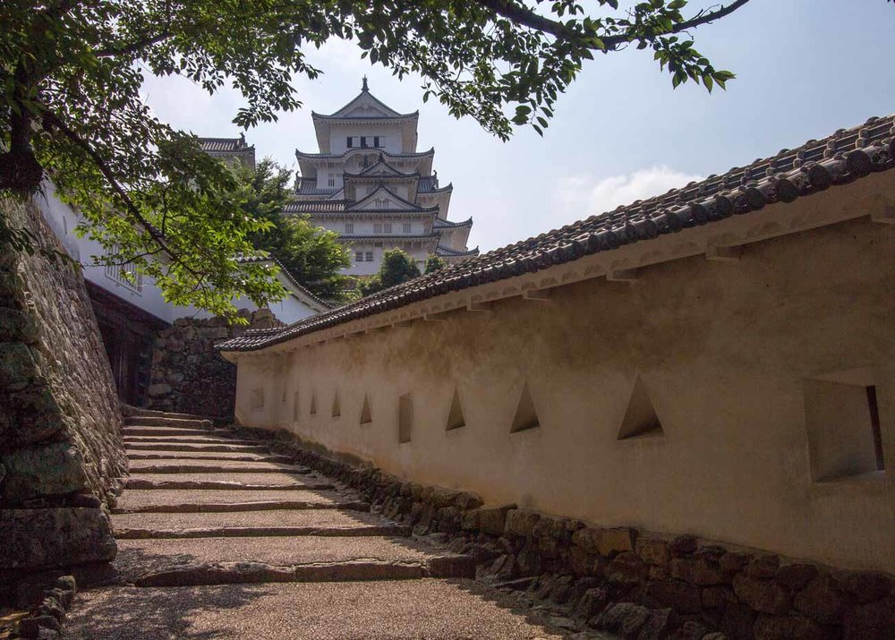 ©  Brent Miller  /  Creative Commons , Himeji Castle Defenses