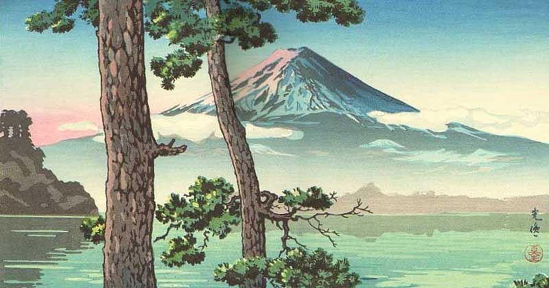 Related: The Meaning of Tsuchiya Koitsu's Woodblock Prints of Mount Fuji -