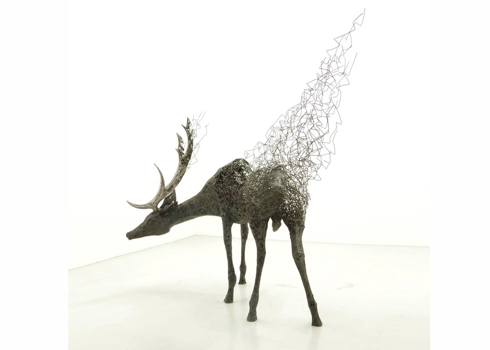 ©Tomohiro Inaba, Metal Sculpture