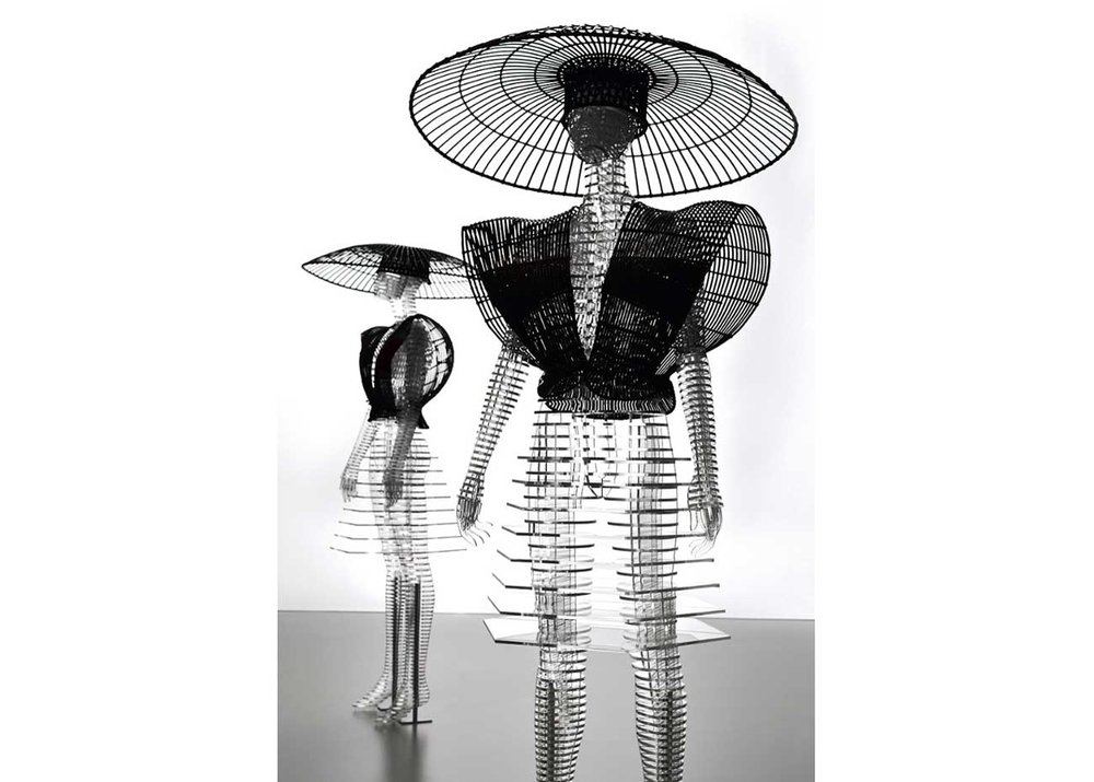 ©  Tokujin Yoshioka , Grid Body, Resin Sculpture