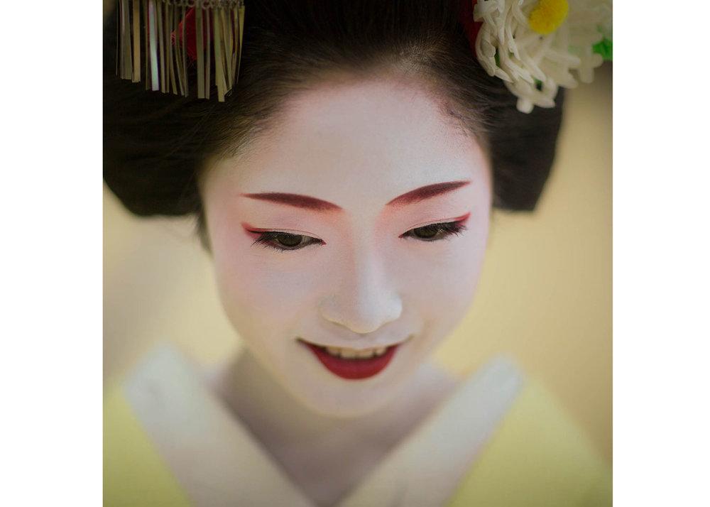 ©Robert van Koesveld, Geiko Toshikana when still a Maiko