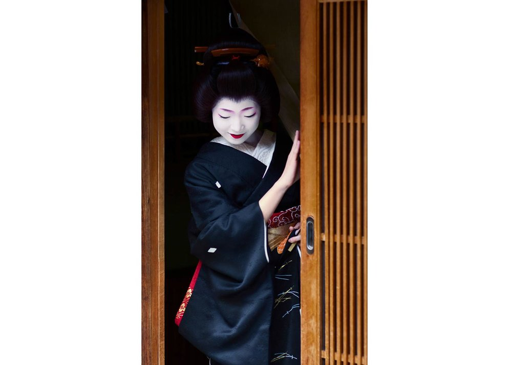 © Robert van Koesveld, Toshikana Becoming a Geiko
