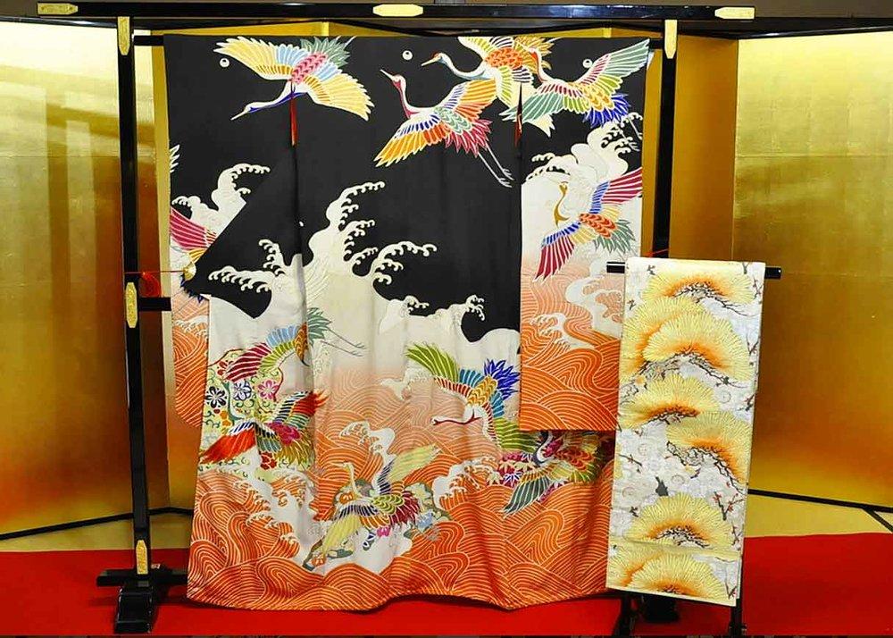 © Antique Kimono Yaya, Furisode