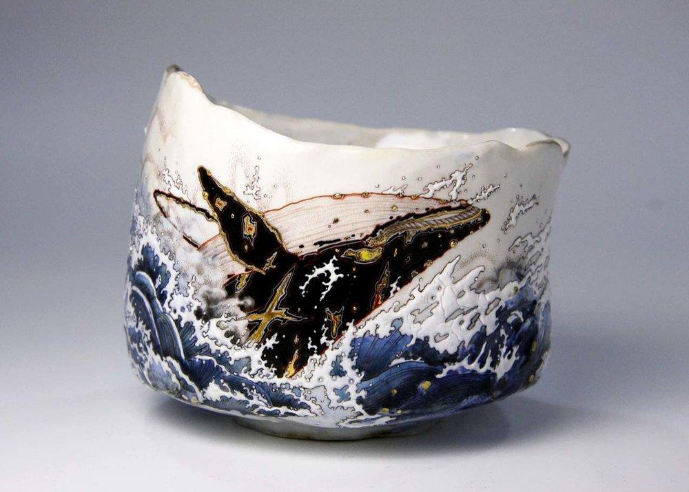 ©  Yoca Muta , Ebisu, Ceramic Tea Bowl