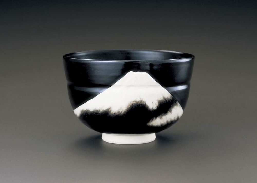 ©  Makuzu Kosai , Fuji, Ceramic Tea Bowl