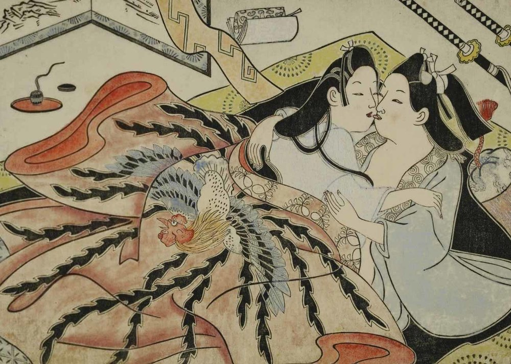 Woodblock Print by Sugimura Jihei, 1680s