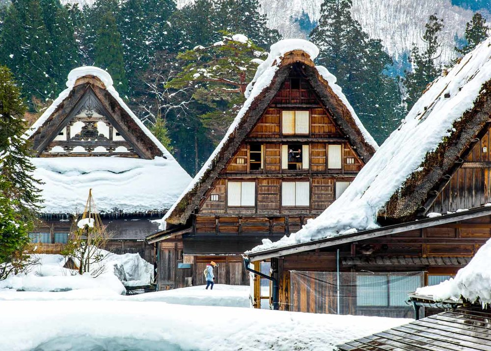 ©  Colin Tsoi  /  Creative Commons , Shirakawa-go