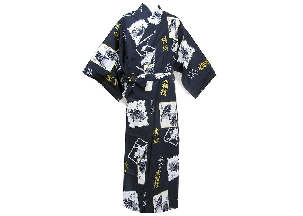 © Men's Yukata Robe