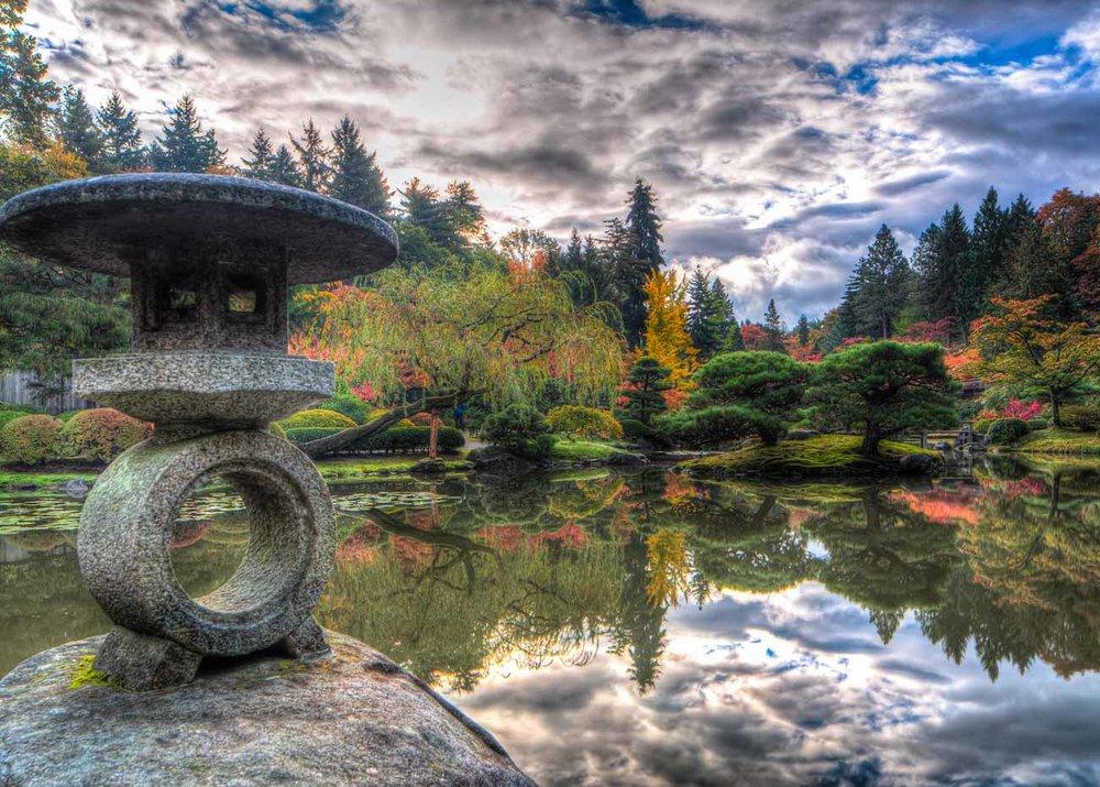 Chris Weber / Flickr Creative Commons, Seattle Japanese Garden
