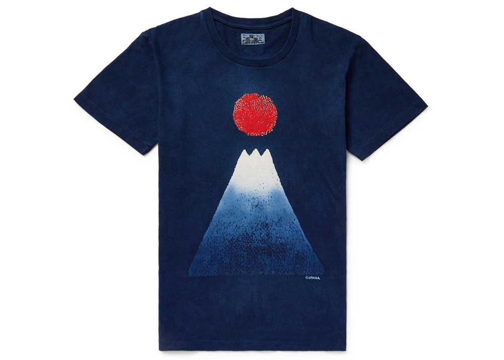 Cotton-Jersey T-Shirt by Blue Blue Japan