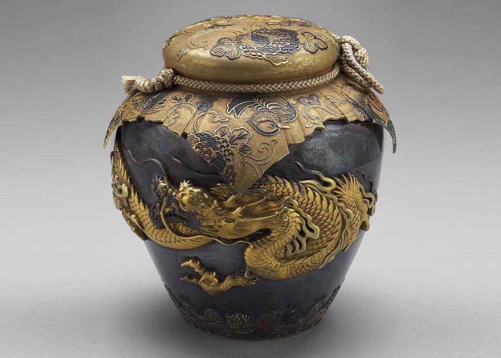 Dragon Pot, 19th century,  Museum of Fine Arts, Boston