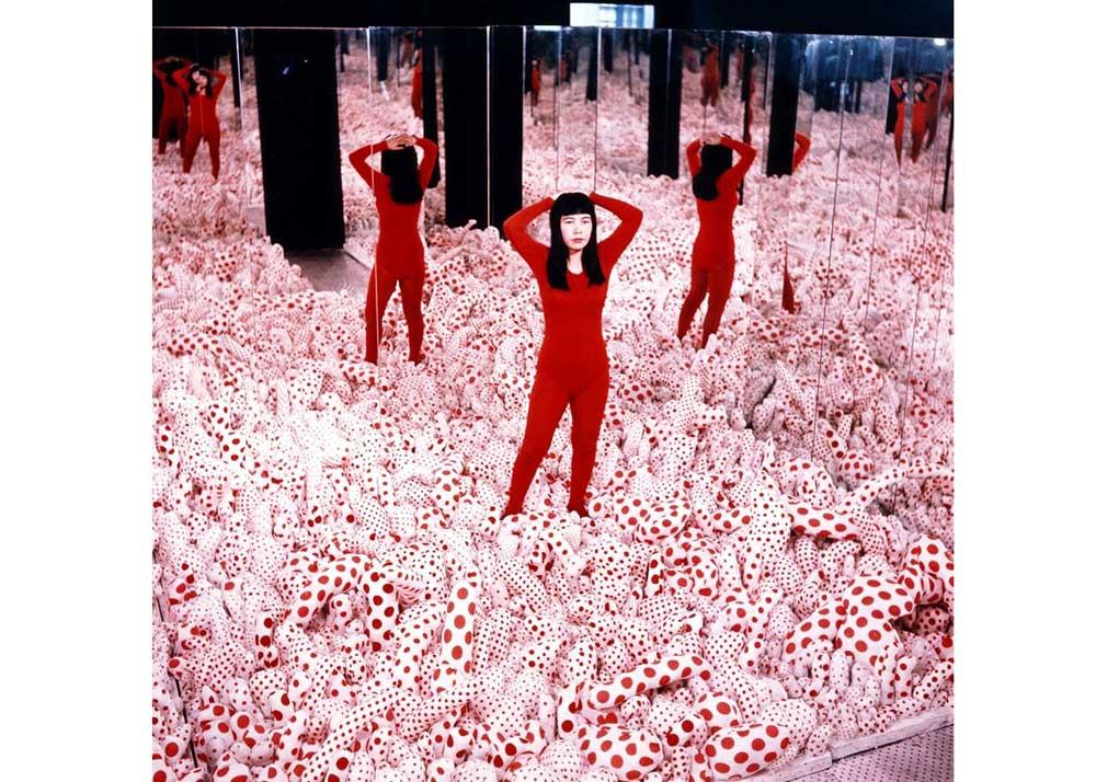© Yayoi Kusama, Infinity Mirrored Room, 1965