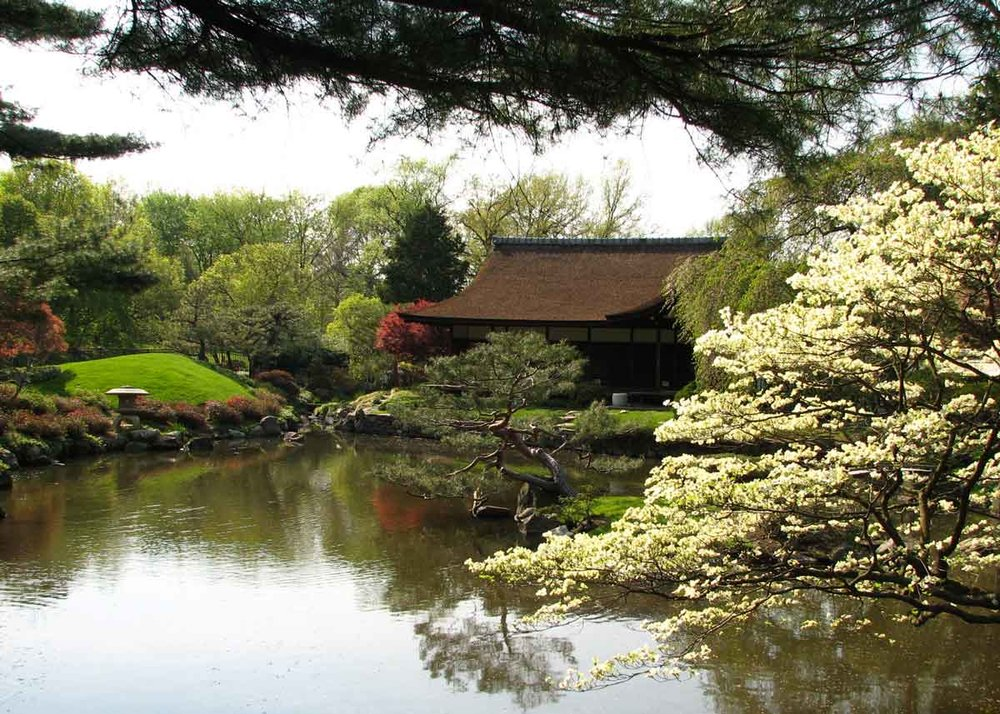© Christopher Woods, Creative Commons, Shofuso Japanese House and Garden