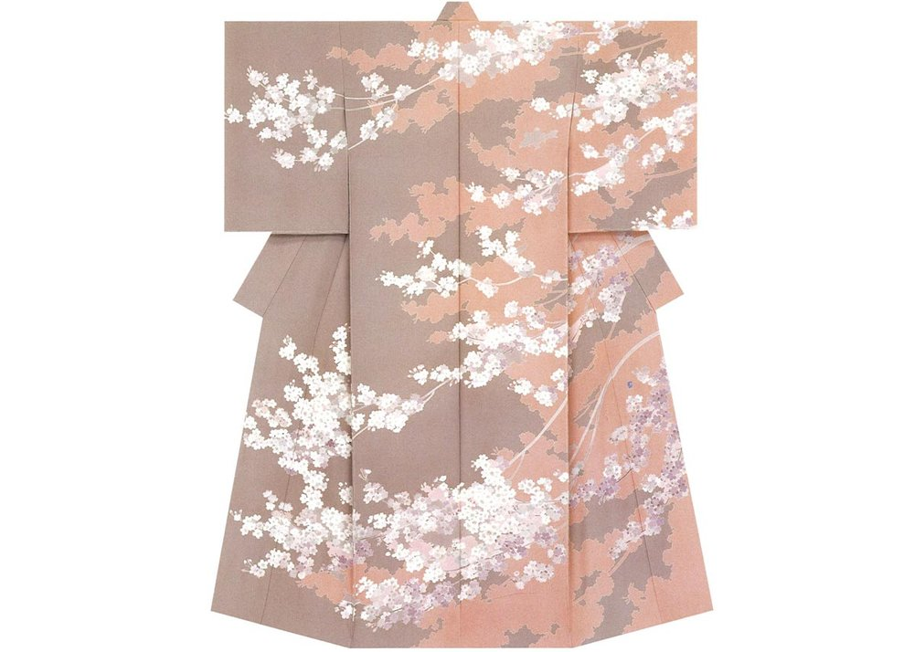 © Kenichi Okubo, Cherry Blossom Kimono