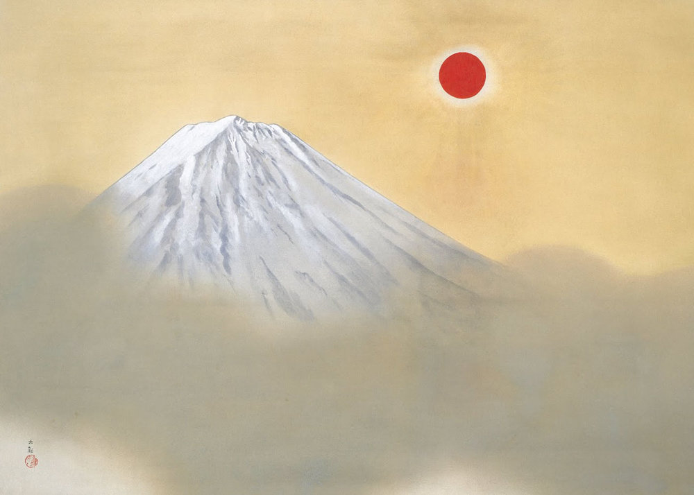 © Taikan Yokoyama, Mt Fuji, 1940