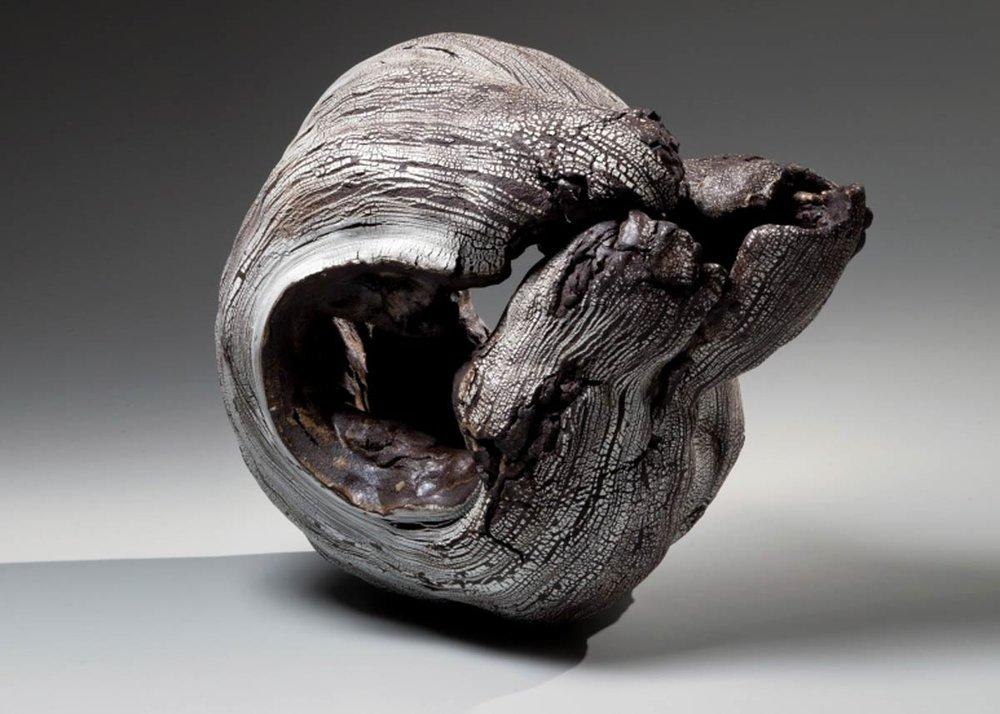 ©Yoshimi Futamura, Black Hole, 2015,  Joan B Mirviss Gallery