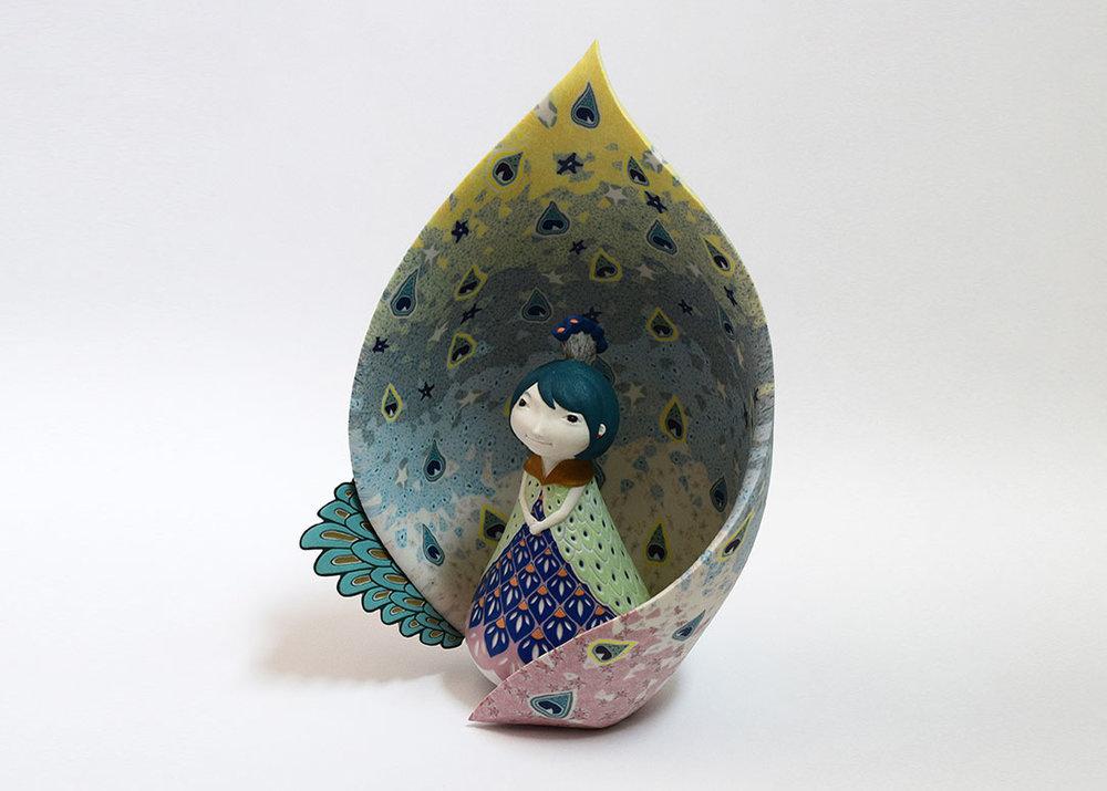 ©Sawako Kobayashi, Peacock Princess, 2015,  Onishi Gallery