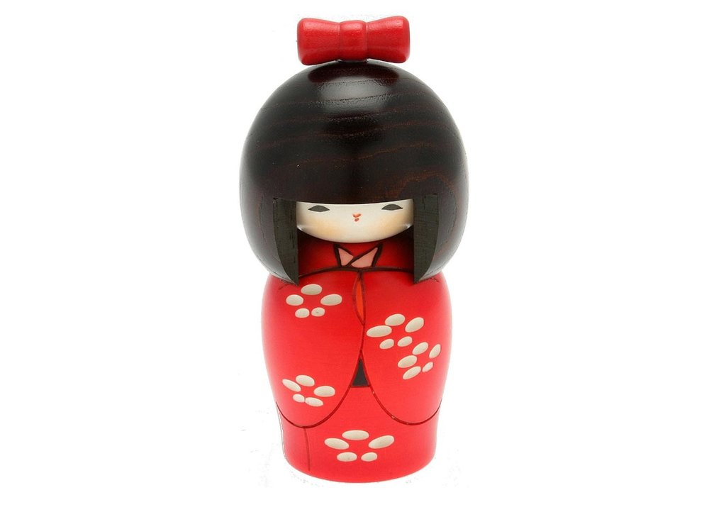 Kokeshi Doll by Usaburo