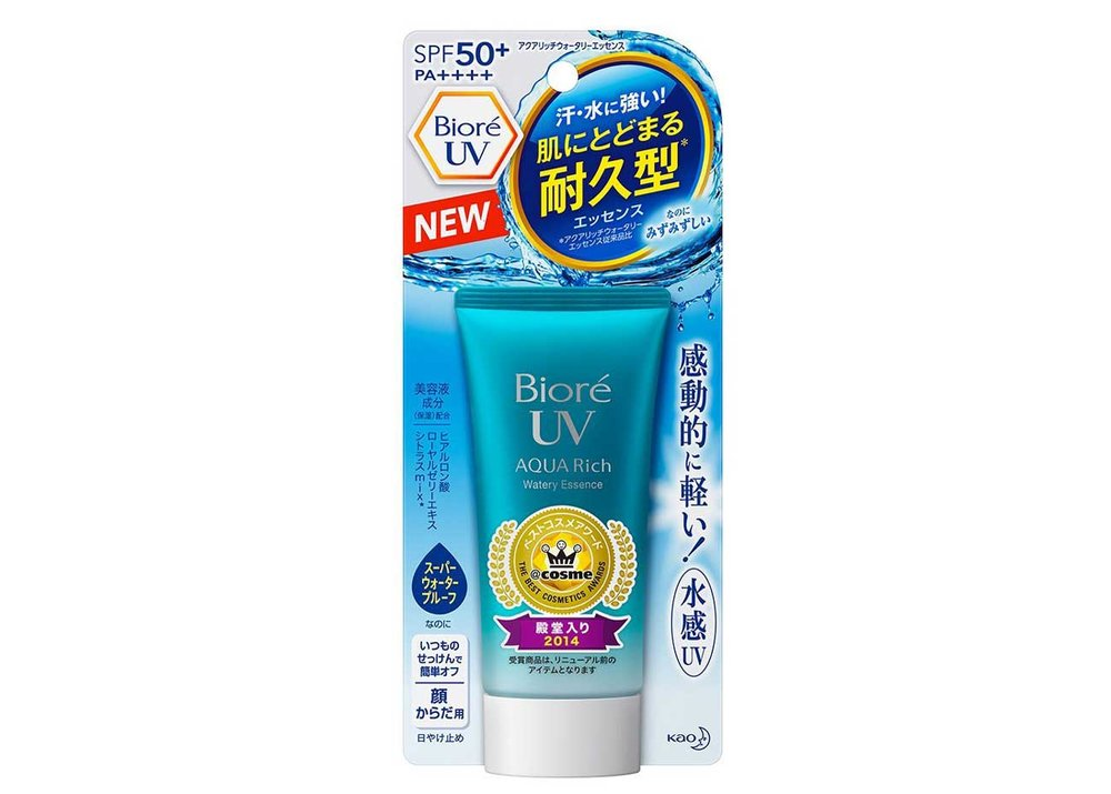 Aqua Rich Watery Essence SPF50+ by Bioré