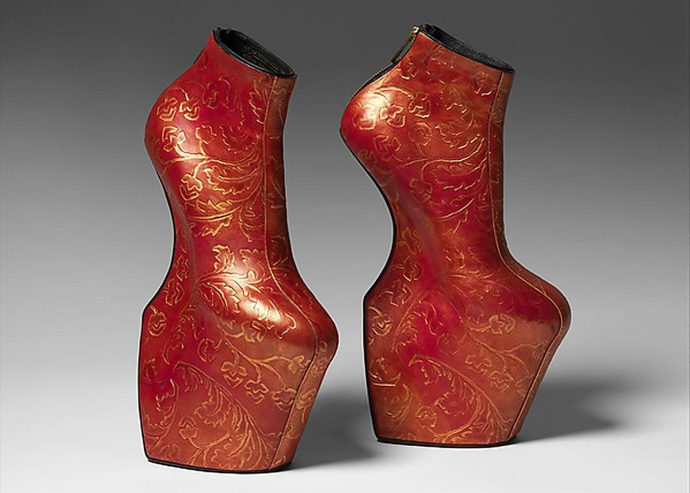 Lady Bloom, Shoes by Noritaka Tatehana,  Metropolitan Museum of Art