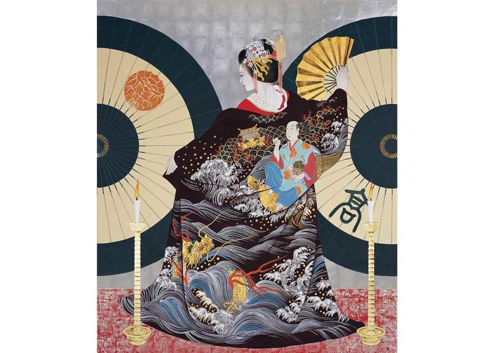 ©Rieko Morita, Ryugu - The Dragon Palace, 2003. All rights reserved.