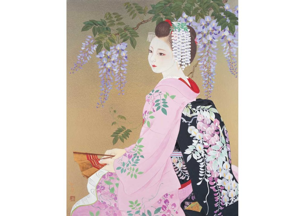 © Rieko Morita, Fuji Musume – Wisteria, 2010. All rights reserved.