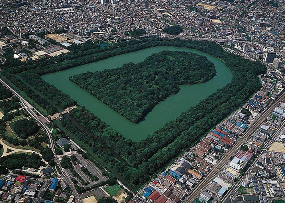© Osaka Info , Tomb of Emperor Nintoku