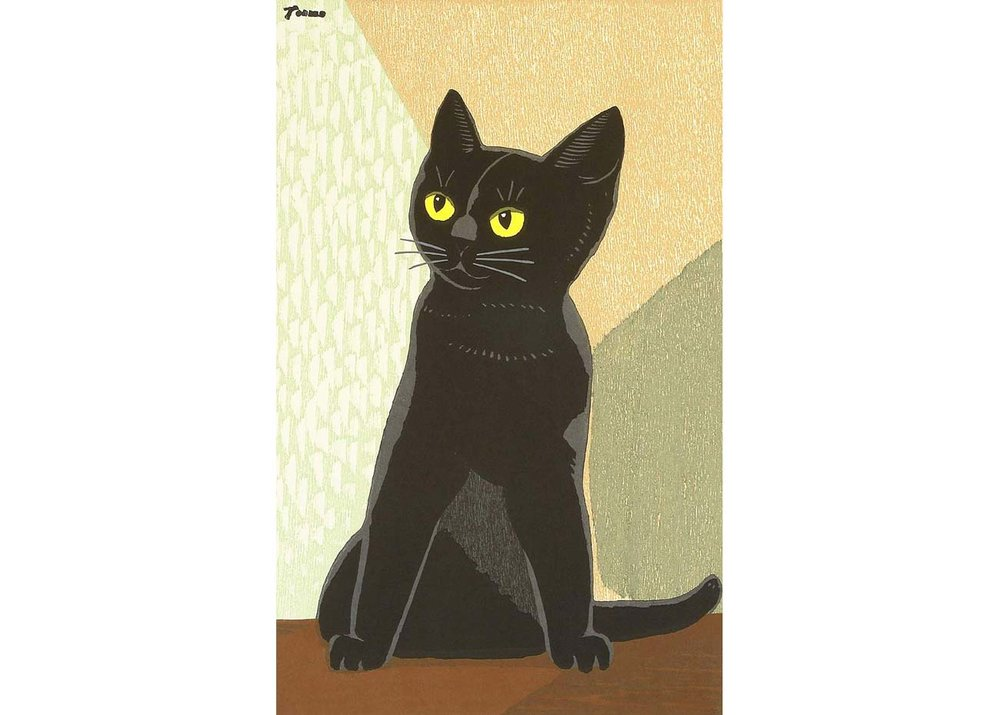 © Tomoo Inagaki, Black Cat, 1940s