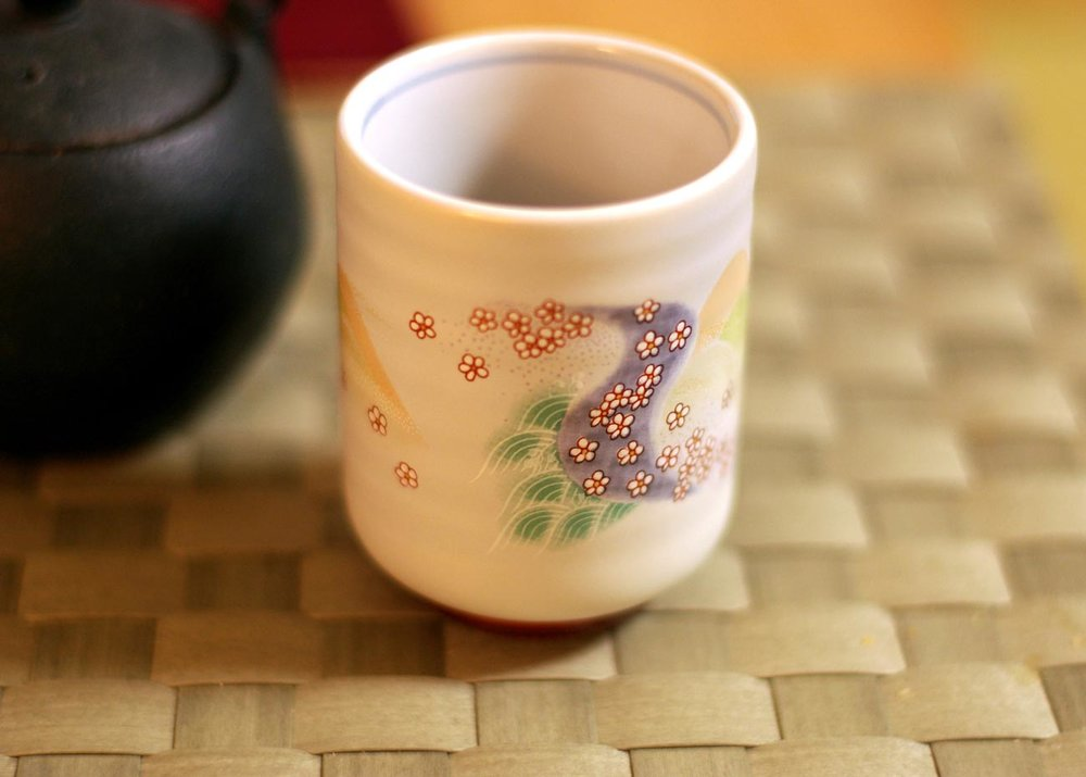 ©  Pelican  / Flickr Creative Commons, Kutani-Yaki Cup