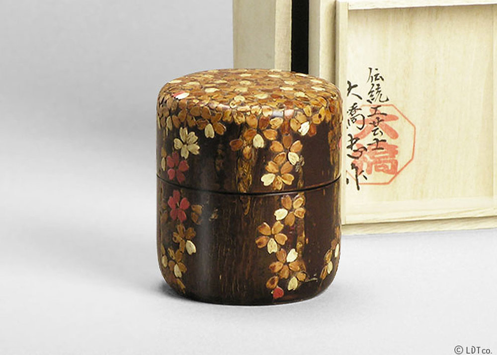 ©  LDT , Tea Caddy by Tadashi Ohashi