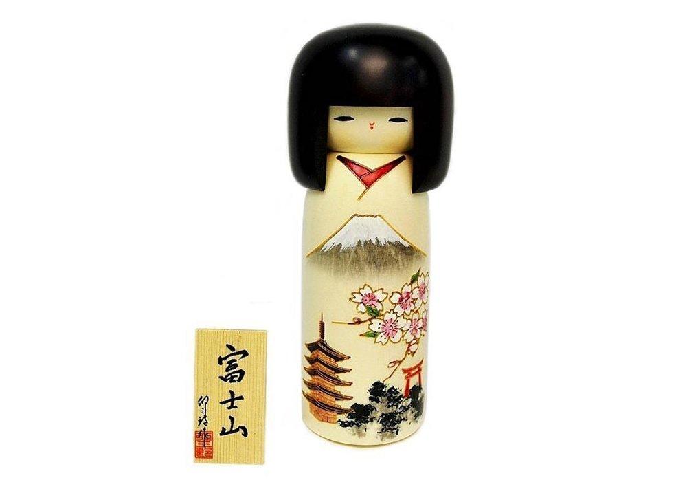 Sosaku Kokeshi Doll by Usaburo