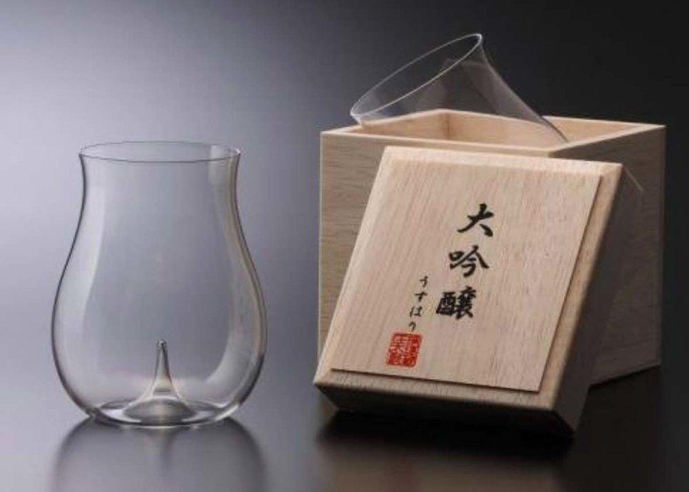 Sake Glass by Usuhari