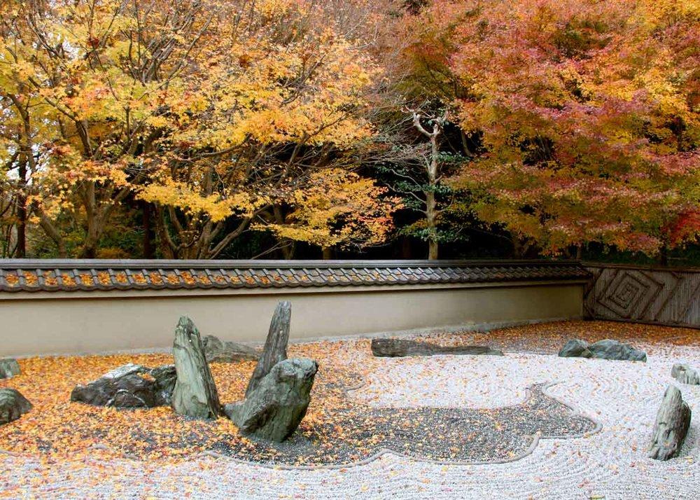 © Anika Ogusu, Real Japanese Gardens, Karesansui Dry Landscape Garden