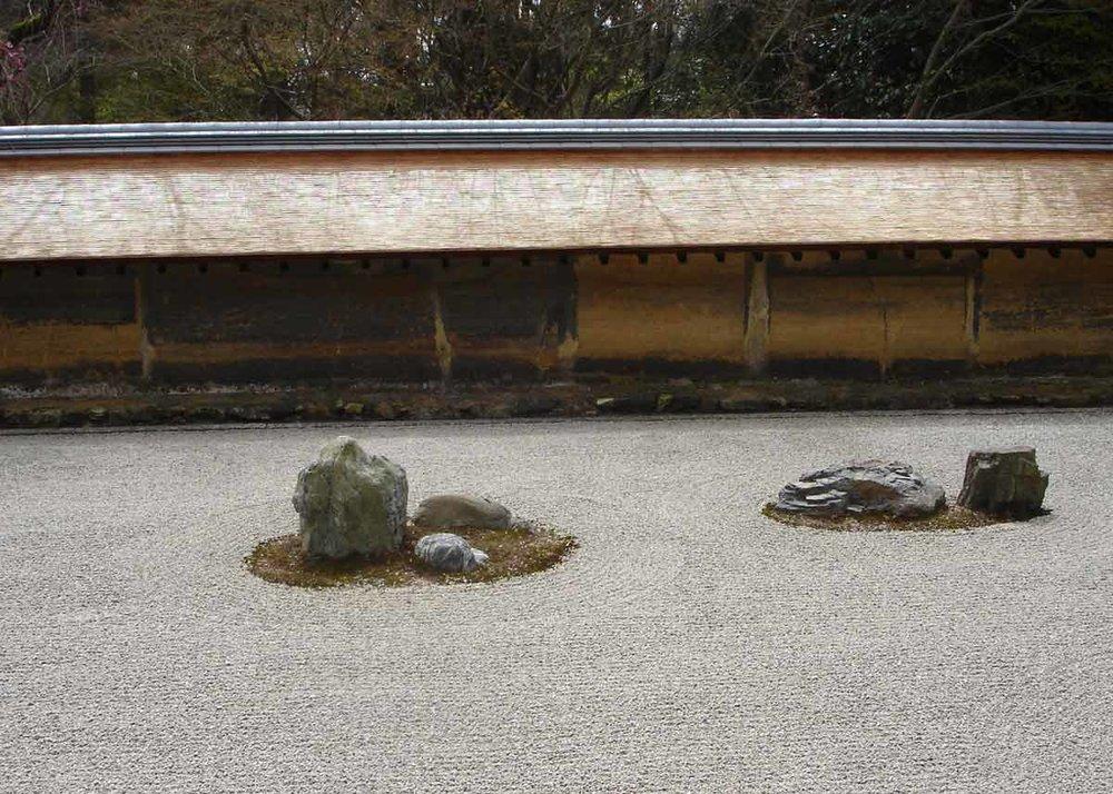 © Anika Ogusu, Real Japanese Gardens, Ryoanji