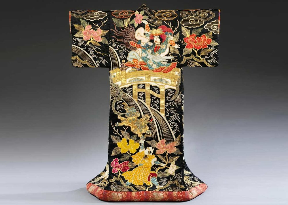 Uchikake, from the  V&A Museum