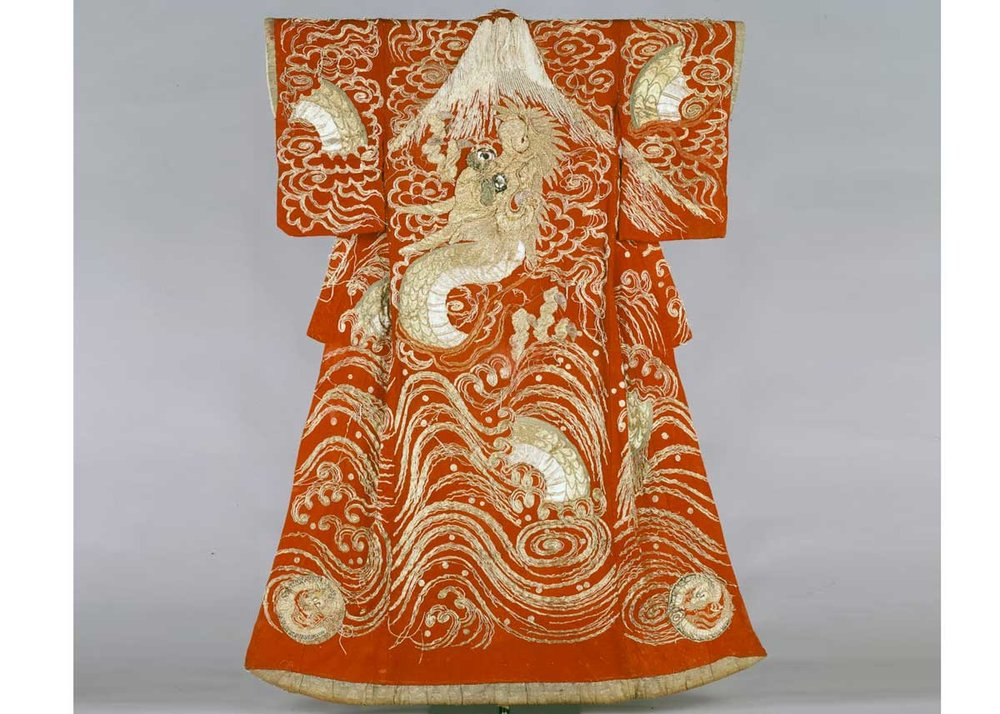 Kabuki Kimono, from the  Fukuoka City Museum